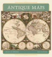 2020 Antique Maps Wall Calendar
