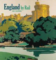 England by Rail 2021 Wall Calendar
