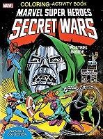 Marvel Super Heroes Secret Wars Activity Book Facsimile Edition (Paperback)