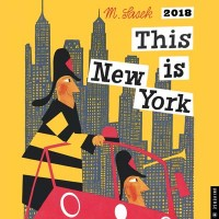 This is New York 2018 Wall Calendar
