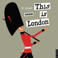 This is London 2020 Square Wall Calendar