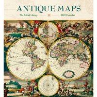 2022 Antique Maps Wall Calendar