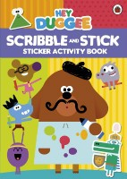 Hey Duggee: Scribble and Stick: Sticker Activity Book - Hey Duggee (Paperback)