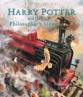 Harry Potter and the Philosopher's Stone: Illustrated Edition (Hardback)