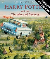 Harry Potter and the Chamber of Secrets: Illustrated edition, signed by Jim Kay (Hardback)
