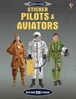Sticker Pilots and Aviators (Paperback)