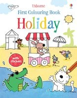 First Colouring Book Holiday - First Colouring Books with stickers (Paperback)