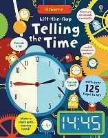 Lift-the-flap Telling the Time - Lift-the-flap Maths (Board book)