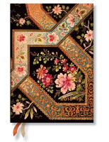 Filigree Floral Ebony Week to View Midi 2018-2019 Diary