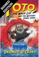 Toto the Ninja Cat and the Mystery Jewel Thief: Book 4 - Signed Edition (Hardback)