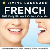 Living Language: French 2018 Day-to-Day Calendar