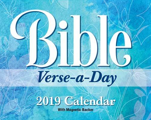 Bible Verse 2019 Mini Day-to-Day Calendar