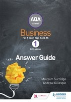 AQA Business for A Level 1 (Surridge & Gillespie): Answers (Paperback)