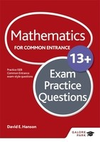 Mathematics for Common Entrance 13+ Exam Practice Questions