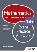 Mathematics for Common Entrance 13+ Exam Practice Answers (Paperback)