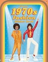1970s Fashion Sticker Book (Paperback)