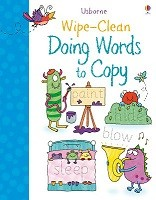 Wipe-clean Doing Words to Copy - Wipe-Clean (Paperback)
