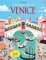 First Sticker Book Venice - First Sticker Books series (Paperback)