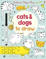 Wipe-Clean Cats and Dogs to Draw - Wipe-clean Books (Paperback)