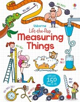 Lift-The-Flap Measuring Things - Lift the Flap (Board book)