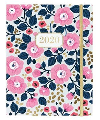 Floral Hidden Wiro Diary Planner 2019-2020