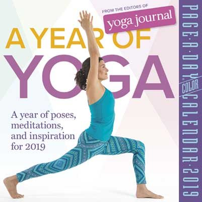 2019 a Year of Yoga Colour Page-A-Day Calendar