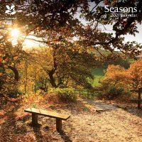 2021 National Trust Seasons Wall Calendar