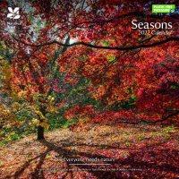 2022 National Trust Seasons Wall Calendar