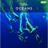 2022 National Geographic Oceans Wall Calendar
