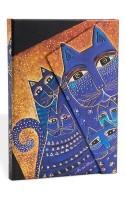 Smythe Sewn Fantastic FelinesMediterranean Cats Lined Mini Wrap