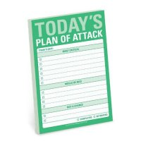 Knock Knock Today`s Plan of Attack Great Big Stickies