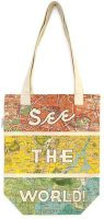See The World Tote Bag