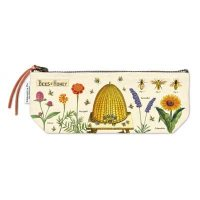 Cavallini Bees and Honey Pencil Case