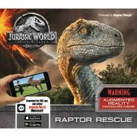 Jurassic World Fallen Kingdom - Raptor Rescue: Augmented Reality Dinosaurs Inside! (Hardback)