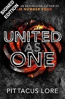 United as One - Signed Edition: The Lorien Legacies - 7 (Hardback)