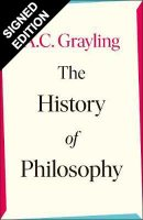 The History of Philosophy: Signed Edition (Hardback)