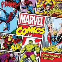 Marvel Comics Classic Official 2018 Calendar - Square Wall Format