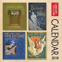 British Library - Bookcovers Wall Calendar 2018 (Art Calendar)