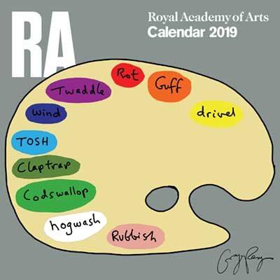 2019 Royal Academy Of Arts Wall Calendar