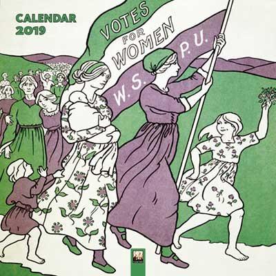 Museum of London - Votes for Women Wall Calendar 2019 (Art Calendar)