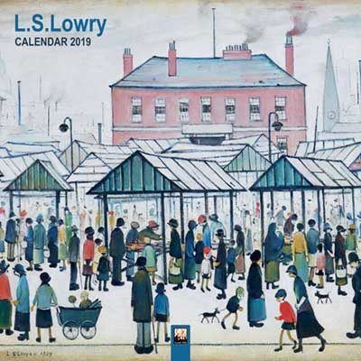 2019 L.s Lowry Wall Calendar