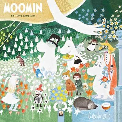 2019 Moomin By Tove Jansson Wall Calendar