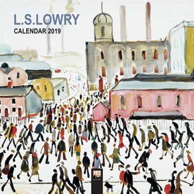 L.S. Lowry - mini wall calendar 2019 (Art Calendar)