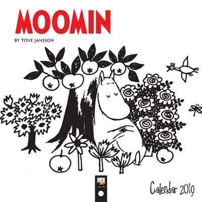 2019 Moomin By Tove Jansson Mini Wall Calenda