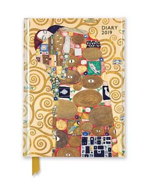 Gustav Klimt - Fulfilment Pocket Diary 2019