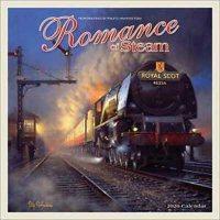 2020 Romance Of Steam Wall Calendar