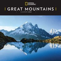 2020 Great Mountains National Geographic Wall Calendar