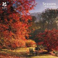 2020 National Trust Seasons Wall Calendar
