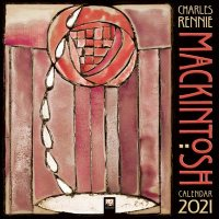Charles Rennie Mackintosh Wall Calendar 2021 (Art Calendar)