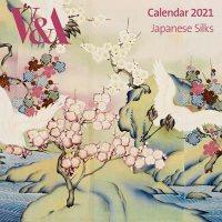 V&A - Japanese Silks Wall Calendar 2021 (Art Calendar)